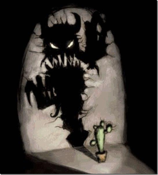 Темная сторона силы - Страх