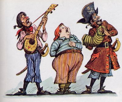 Детям о пиратах