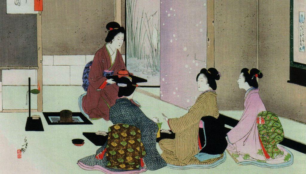 Полтора слова о чайной церемонии