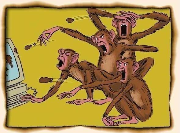 Почему люди ругаются и спорят в сети?