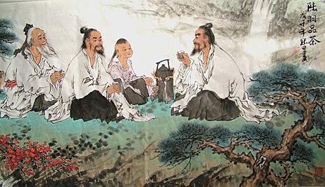 Притчи о Дань Шэне